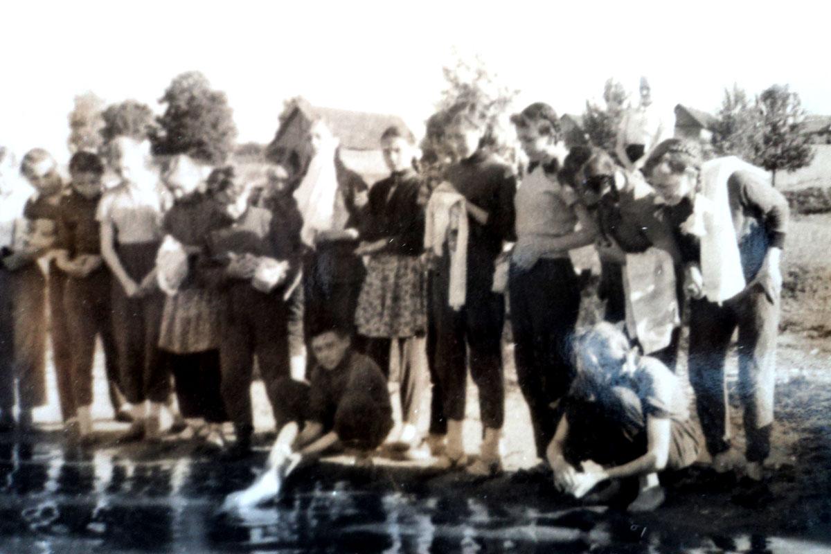 Поход. 1964 г. Озеро Нарочь.